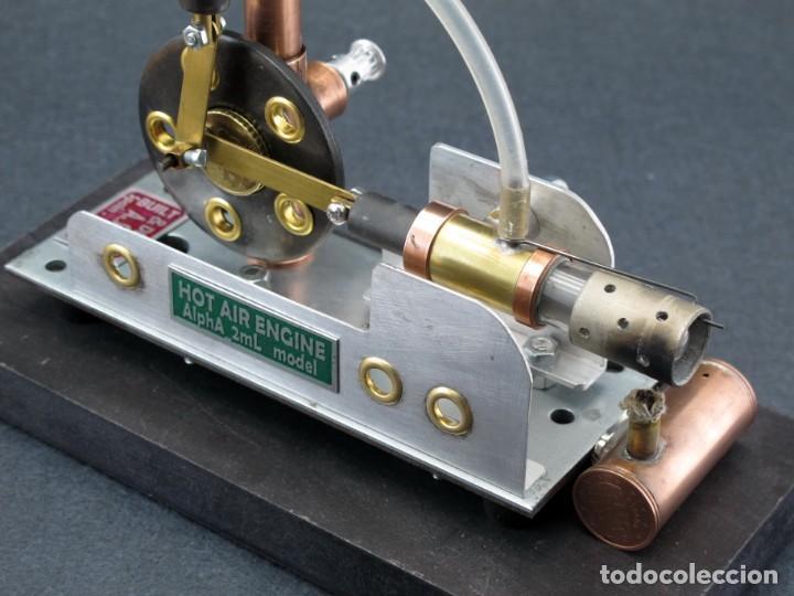 Trenes Escala: Motor de aire caliente tipo Stirling - Foto 7 - 232850475