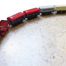 Trenes Escala: LOTE DE TRENES DE LA MARCA MECCANO HORNBY. Lote 235944455
