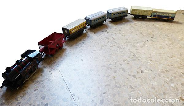 LOTE DE TRENES DE LA MARCA MECCANO HORNBY (Juguetes - Trenes Escala H0 - Hornby H0)