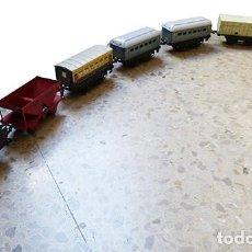 Trenes Escala: LOTE DE TRENES DE LA MARCA MECCANO HORNBY. Lote 236094310