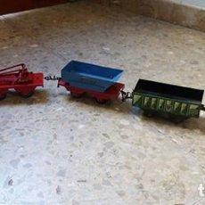 Trenes Escala: LOTE DE TRENES DE LA MARCA MECCANO HORNBY. Lote 236115960