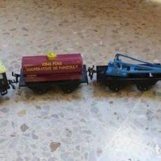 Trenes Escala: LOTE DE TRENES DE LA MARCA MECCANO HORNBY. Lote 236306905