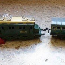 Trenes Escala: LOTE DE TRENES DE LA MARCA MECCANO HORNBY. Lote 236310055