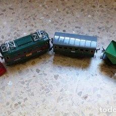 Trenes Escala: LOTE DE TRENES DE LA MARCA MECCANO HORNBY. Lote 236310800