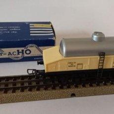 Trenes Escala: 1 VAGÓN DE LECHE DE HORNBY ACHO, 1960, CON CAJA ORIGINAL, 11,5 CM, ENVIO 4,80 EUROS, X33. Lote 244971395