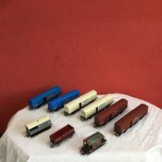 Trains Échelle: LOTE VAGONES TREN GREAT BRITAIN. VER FOTOS. Lote 258313985
