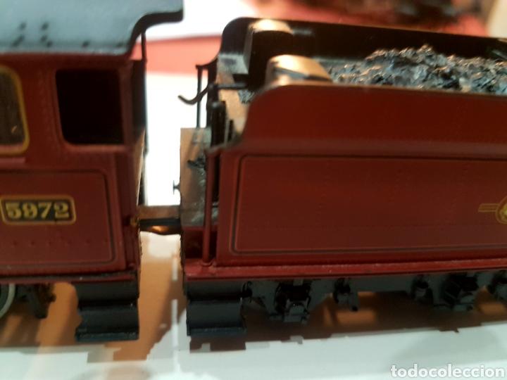 Trenes Escala: Locomotora Hornby con tender. Equipada con DCC. - Foto 11 - 271999648