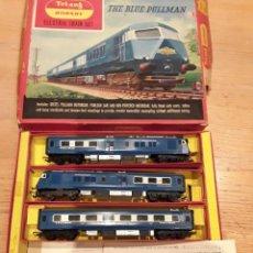 Trenes Escala: TRIANG HORNBY, THE BLUE PULLMAN, FUNCIONANDO, AÑOS 60.. Lote 272289198