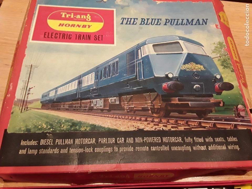 Trenes Escala: Triang Hornby, The Blue Pullman, funcionando, años 60. - Foto 3 - 272289198