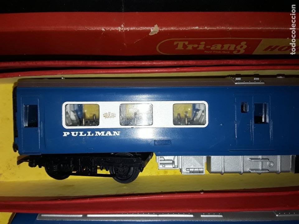 Trenes Escala: Triang Hornby, The Blue Pullman, funcionando, años 60. - Foto 5 - 272289198