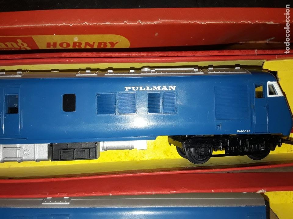Trenes Escala: Triang Hornby, The Blue Pullman, funcionando, años 60. - Foto 6 - 272289198