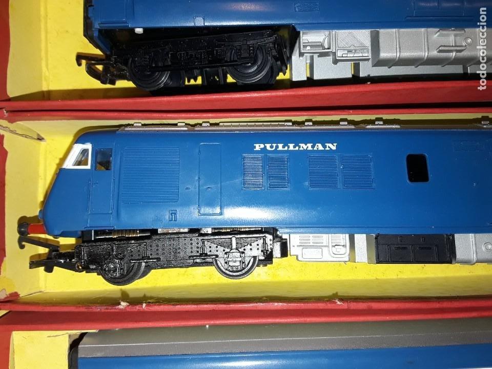 Trenes Escala: Triang Hornby, The Blue Pullman, funcionando, años 60. - Foto 7 - 272289198
