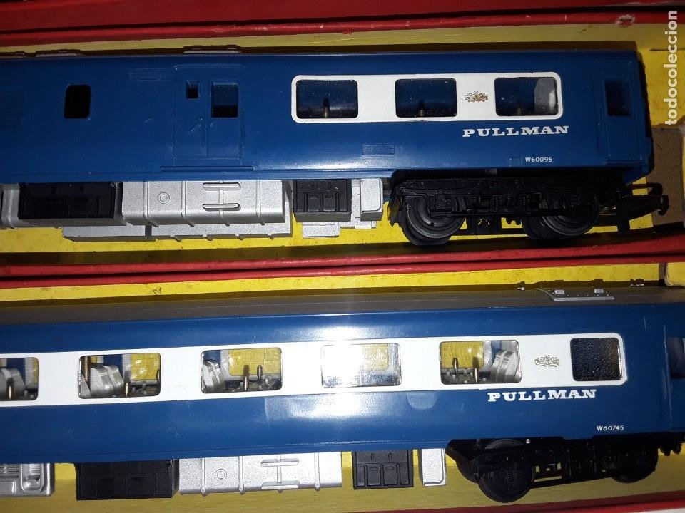Trenes Escala: Triang Hornby, The Blue Pullman, funcionando, años 60. - Foto 8 - 272289198
