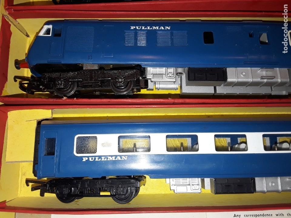 Trenes Escala: Triang Hornby, The Blue Pullman, funcionando, años 60. - Foto 9 - 272289198