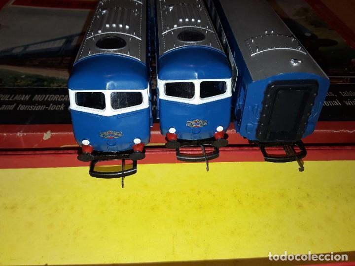Trenes Escala: Triang Hornby, The Blue Pullman, funcionando, años 60. - Foto 10 - 272289198