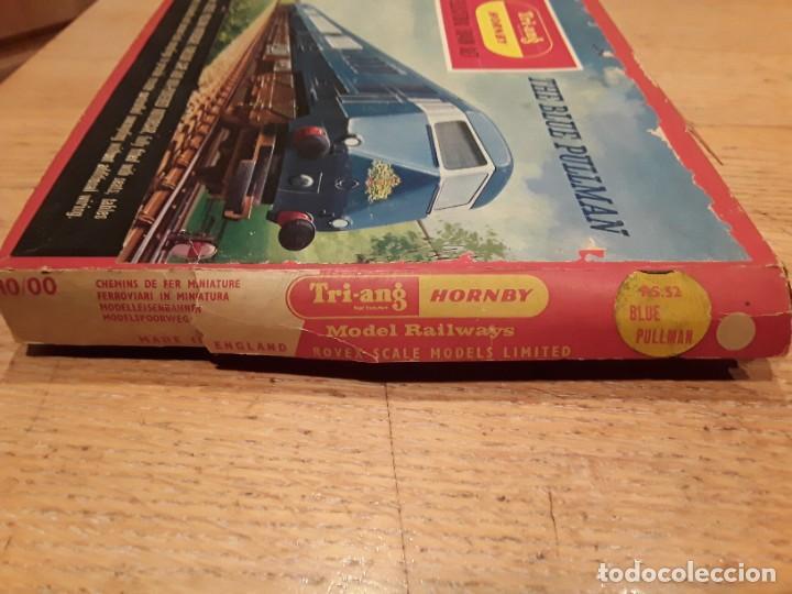 Trenes Escala: Triang Hornby, The Blue Pullman, funcionando, años 60. - Foto 14 - 272289198