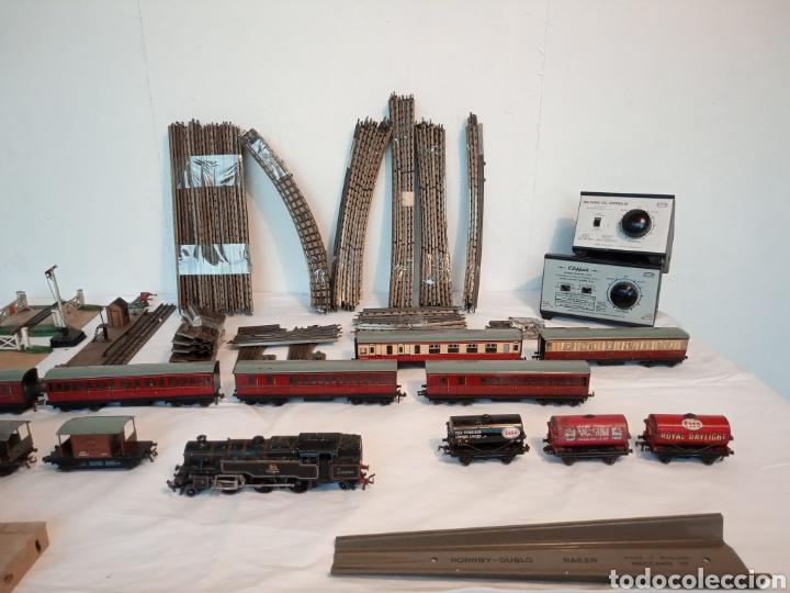 Trenes Escala: Antiguo Tren Meccano Hornby - Foto 5 - 285190718