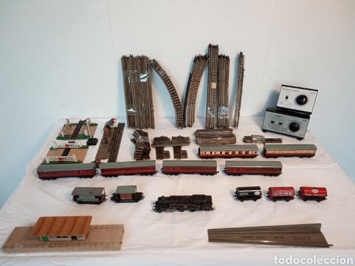 ANTIGUO TREN MECCANO HORNBY (Juguetes - Trenes Escala H0 - Hornby H0)