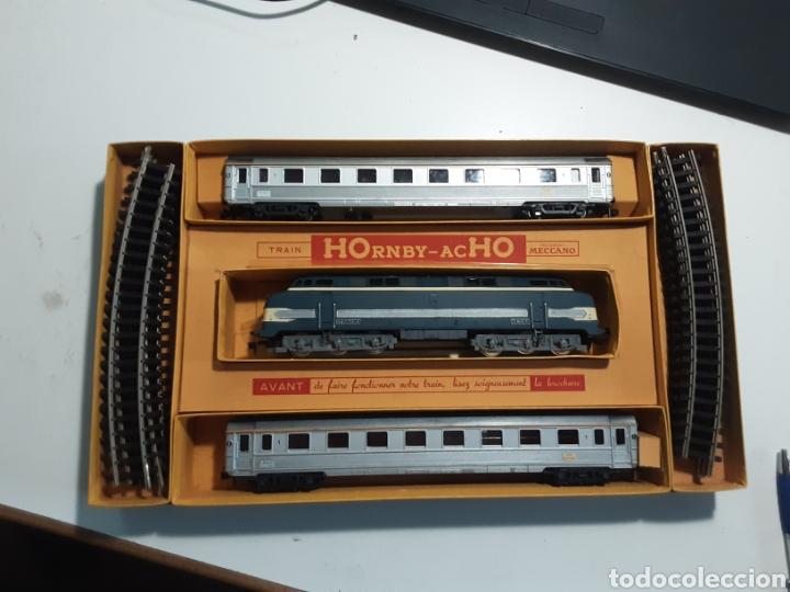 Trenes Escala: Tren Meccano HOrnby- acHO perfecto estado la mejor descripción son las fotos - Foto 3 - 286309263