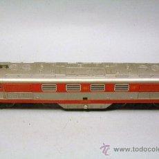 Trenes Escala: IBERTREN.ESCALA H0. CONJUNTO LOCOMOTORA TALGO Y 8 VAGONES. AÑOS.80. Lote 46470954
