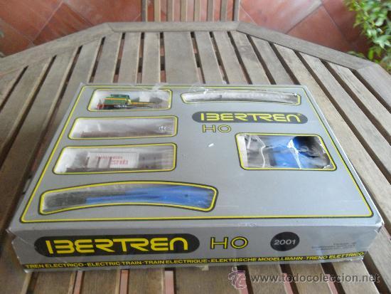 CAJA IBERTREN HO MODELO 2001 LOCOMOTORA DE MANIOBRAS (Juguetes - Trenes a Escala - Ibertren H0)