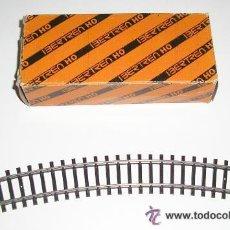 Trenes Escala: VIA CURVA R 360 - 30 GRADOS PARA MAQUETA TREN IBERTREN H0 - ARTICULO NUEVO . Lote 146903398