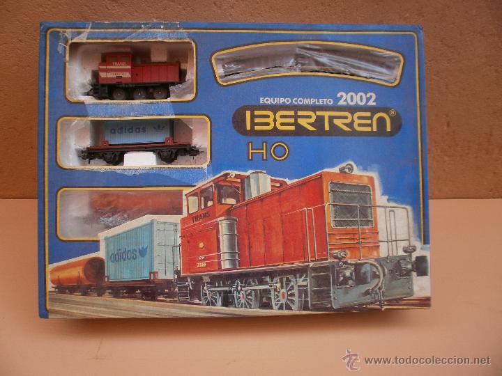 CAJA COMPLETA IBERTREN H0 EQUIPO COMPLETO 2002 (Juguetes - Trenes a Escala - Ibertren H0)