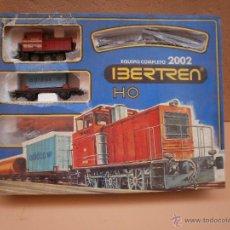 Trenes Escala: CAJA COMPLETA IBERTREN H0 EQUIPO COMPLETO 2002. Lote 54634609