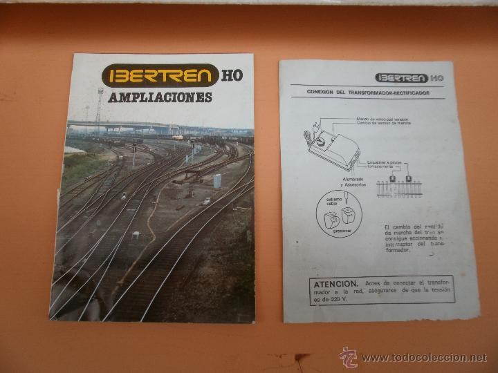 Trenes Escala: CAJA COMPLETA IBERTREN H0 EQUIPO COMPLETO 2002 - Foto 6 - 54634609