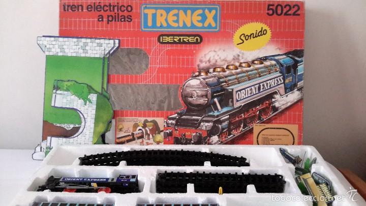 IBERTREN TRENEX. REF.5022 NUEVO.FABRICADO EN ESPAÑA. (Juguetes - Trenes a Escala - Ibertren H0)