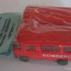 Trenes Escala: IBERTREN HO, BOLSA PAR DE FURGONETAS MERCEDES BOMBEROS, REF 2672. CC. Lote 58103580