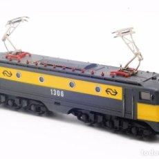 Trenes Escala: IBERTREN - LOCOMOTORA ELECTRICA HOLANDESA ALSTHOM 2-7-6 1306. ESCALA H0. C.CONTINUA ANALÓGICA. Lote 88787012