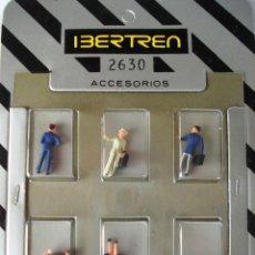 Trenes Escala: IBERTREN ESCALA HO: BLISTER 6 PERSONAJES VIAJEROS. ¡¡NUEVO!! ORIGINAL. Lote 90041376