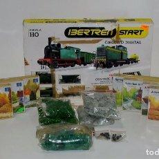 Trenes Escala: IBERTREN STARS REF:1500 + 7 MAQUETAS(PRECINTADAS) + DECORACION. Lote 94162035