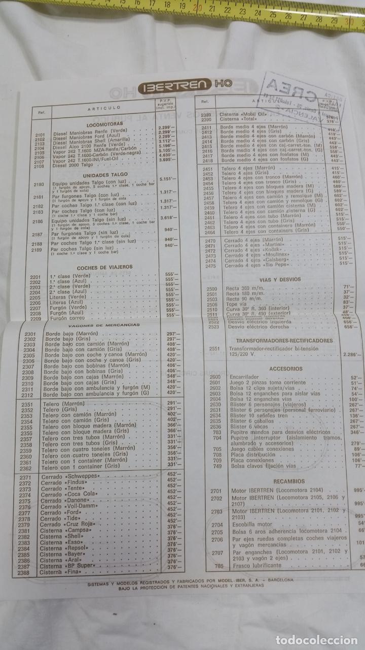 Trenes Escala: TARIFA IBERTREN H0 - Foto 2 - 95967379