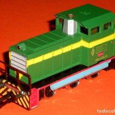 Trenes Escala: LOCOMOTORA DIESEL MANIOBRAS 304 RENFE 10435 REF. 2101, IBERTREN H0. ORIGINAL AÑOS 80.. Lote 101231156