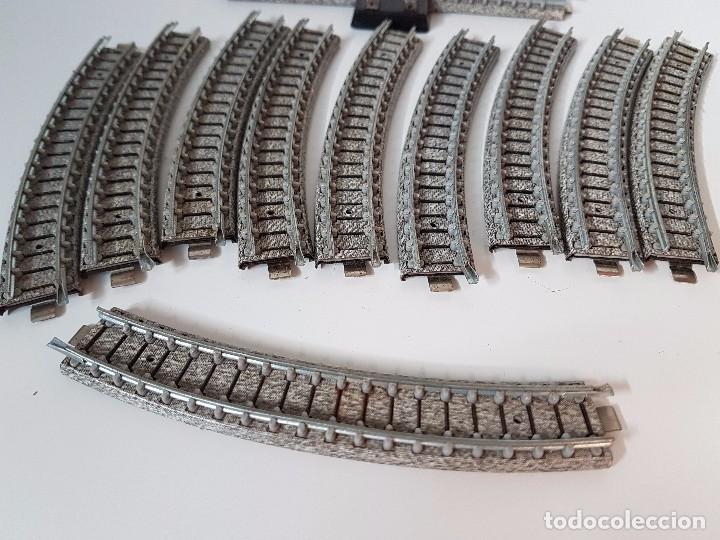Trenes Escala: LOTE VIAS TREN MINIATURA IBERTREN - Foto 8 - 101915047