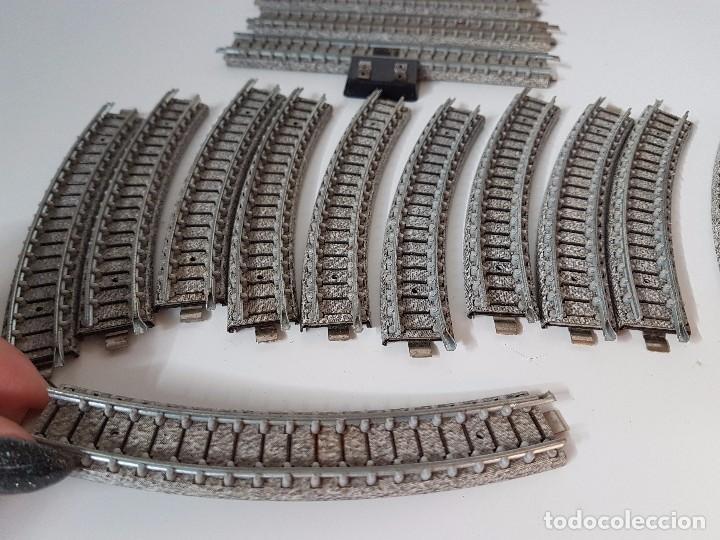 Trenes Escala: LOTE VIAS TREN MINIATURA IBERTREN - Foto 9 - 101915047