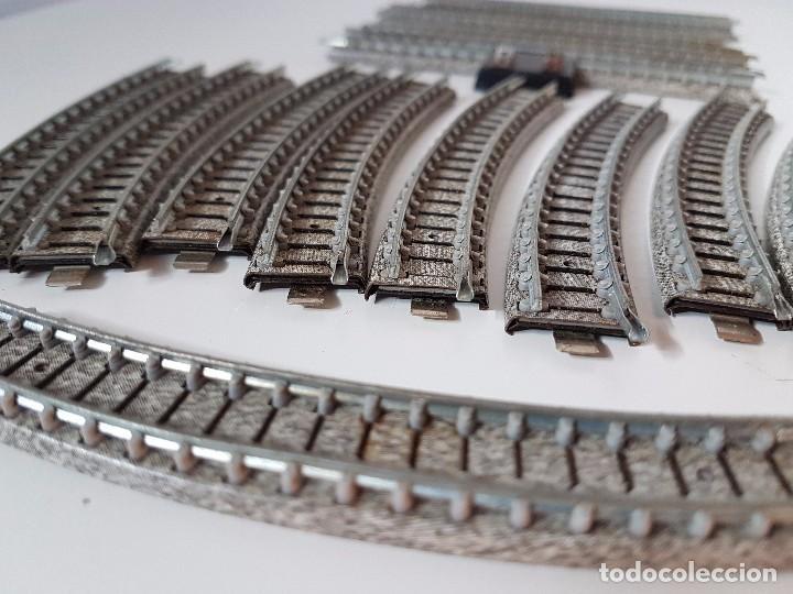Trenes Escala: LOTE VIAS TREN MINIATURA IBERTREN - Foto 10 - 101915047