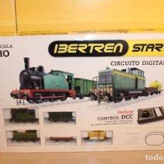 Trenes Escala: IBERTREN START CIRCUITO DIGITAL INCLUYE CONTROL DCC. Lote 106597699
