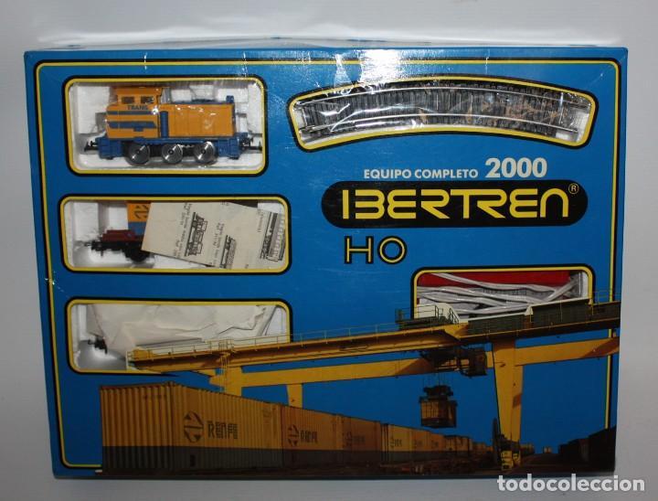 IBERTREN EQUIPO COMPLETO 2000. AÑOS 80 (Juguetes - Trenes a Escala - Ibertren H0)