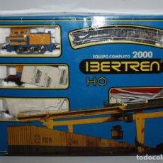 Trenes Escala: IBERTREN EQUIPO COMPLETO 2000. AÑOS 80. Lote 106740003