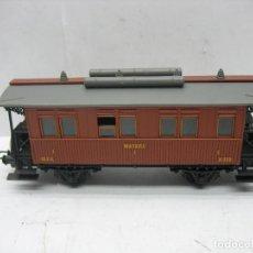 Trenes Escala: IBERTREN - COCHE DE PASAJEROS MATARO I M.Z.A. A-330 - ESCALA H0. Lote 124417647