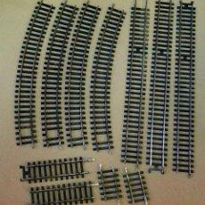 Trenes Escala: LOTE VIAS, IBERTREN, ESCALA H0. Lote 108929547