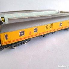 Trenes Escala: IBERTREN H0 VAGÓN FURGÓN DE CORREOS EN CAJA . Lote 112876355