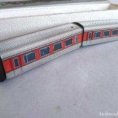 Trenes Escala: IBERTREN H0 PAREJA DE COCHES DE COMPOSICIÓN TALGO ,1ª CLASE. EN CAJA ORIGINAL. Lote 112876551
