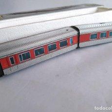 Trenes Escala: IBERTREN H0 PAREJA DE COCHES DE COMPOSICIÓN TALGO,COCHE DE 1ª Y RESTAURANTE . EN CAJA ORIGINAL. Lote 112876851