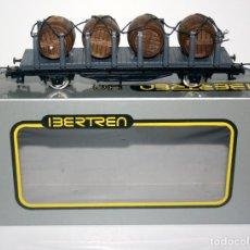 Trenes Escala: IBERTREN VAGON ESCALA HO ORIGINAL 1980 ELECTRIC TRAIN WAGON. Lote 112909247