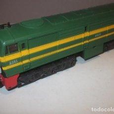 Trenes Escala: IBERTREN LOCOMOTORA DIESEL ALCO MUY BUEN ESTADO Y FUNCIONAMIENTO,BARATA. Lote 113862459