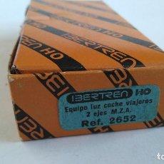 Trenes Escala: IBERTREN H0 EQUIPO LUZ COCHE VIAJEROS MZA 2 EJES REF 2652. NUEVO, RESTO JUGUETERÍA. Lote 177033204